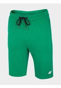 Zielone spodenki dresowe 4f na co dzień, casualowe