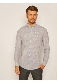 Strellson Koszula 11 Sereno-Sw 30023171 Biały Slim Fit. Kolor: biały