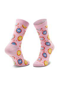 Pomarańczowe skarpetki Happy-Socks