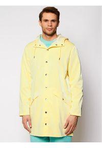 Rains Kurtka przeciwdeszczowa Unisex 1202 Żółty Regular Fit. Kolor: żółty