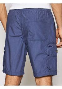 Superdry Szorty materiałowe Ult Cargo M7110210A Granatowy Regular Fit. Kolor: niebieski. Materiał: materiał #3