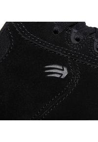 Czarne sneakersy Etnies z cholewką