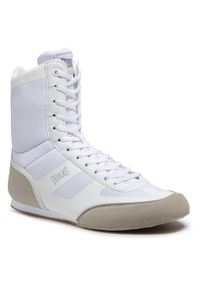 Buty EVERLAST - Evl Shadow Mid 624431-60 Blanc/Argent 33. Okazja: na co dzień. Kolor: biały. Materiał: materiał. Szerokość cholewki: normalna