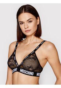 Czarny biustonosz braletka Moschino Underwear & Swim