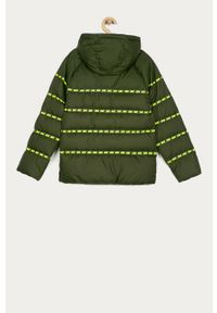 Oliwkowa kurtka Nike Kids casualowa, na co dzień, z kapturem