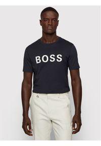 BOSS - Boss T-Shirt Tiburt 171_BB 50430889 Granatowy Regular Fit. Kolor: niebieski