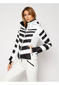 Biała kurtka sportowa Descente narciarska