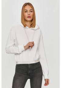 Biała bluza TALLY WEIJL z kapturem