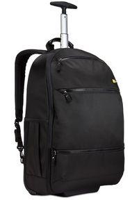Czarny plecak na laptopa CASE LOGIC w kolorowe wzory