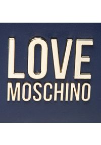 Love Moschino - Plecak LOVE MOSCHINO - JC4109PP1DLJ070A Navy. Kolor: niebieski. Materiał: skóra. Styl: klasyczny