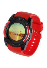 Czerwony zegarek GARETT smartwatch