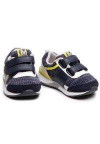 Mayoral - Sneakersy MAYORAL - 41.294 Lima 75. Okazja: na spacer. Zapięcie: rzepy. Kolor: niebieski. Materiał: skóra, materiał, zamsz. Szerokość cholewki: normalna