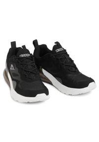 Kappa - Sneakersy KAPPA - Durban 242914 Black/White 1110. Kolor: czarny. Materiał: skóra ekologiczna, materiał. Szerokość cholewki: normalna. Styl: klasyczny