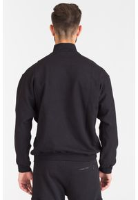 Czarna bluza Versace Jeans z napisami