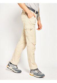 Beżowe spodnie columbia