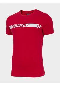 Czerwony t-shirt outhorn