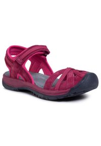 Różowe sandały CMP na co dzień, casualowe