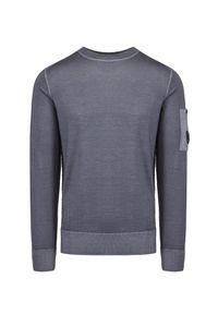 CP Company - Sweter wełniany C.P. COMPANY. Materiał: wełna. Wzór: aplikacja