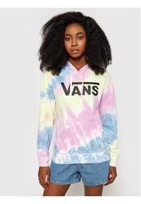 Vans Bluza Spiraling Hoodie VN0A5ASM Kolorowy Regular Fit. Wzór: kolorowy