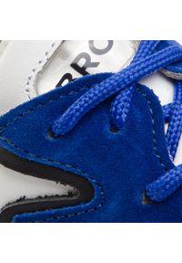 Białe buty sportowe Bronx na co dzień, z cholewką #7