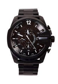 Diesel - Zegarek DZ4283. Rodzaj zegarka: analogowe. Kolor: czarny. Materiał: koronka. Styl: elegancki