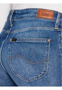 Lee Jeansy Slim Fit Elly L305DJJF Niebieski Slim Fit. Kolor: niebieski. Materiał: jeans