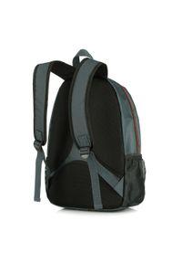 Wittchen - plecak podróżny z tkaniny. Kolor: pomarańczowy, wielokolorowy, szary. Materiał: poliester. Styl: sportowy