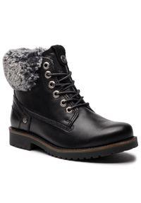 Czarne buty trekkingowe Wrangler