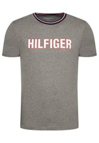 TOMMY HILFIGER - Tommy Hilfiger T-Shirt Cn Ss UM0UM02010 Szary Regular Fit. Kolor: szary