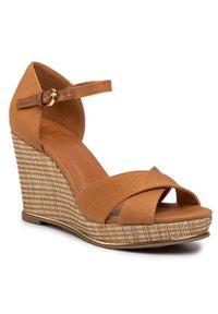 Brązowe sandały Jenny Fairy casualowe, na co dzień