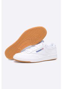 Białe sneakersy Reebok Classic z cholewką, Reebok Classic, na sznurówki #6