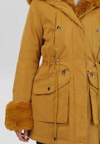 Żółta kurtka przejściowa Born2be