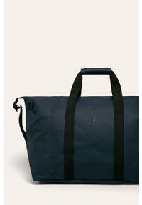Niebieska torba podróżna Rains