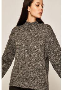 medicine - Medicine - Sweter Amber Ambient. Kolor: szary. Materiał: dzianina. Wzór: melanż