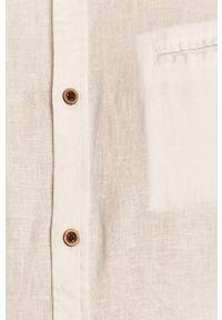 Biała koszula medicine na co dzień, długa