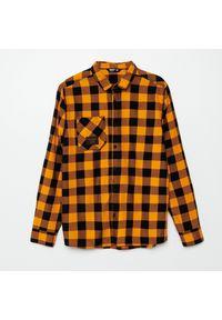 Pomarańczowa koszula Cropp