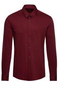 Czerwona koszula biznesowa Pierre Cardin