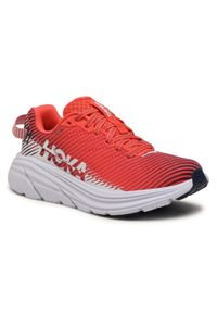 Czerwone buty do biegania Hoka One One