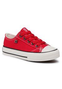 Big-Star - Trampki BIG STAR - DD374161 S Red. Okazja: na co dzień. Kolor: czerwony. Materiał: materiał. Szerokość cholewki: normalna. Styl: casual