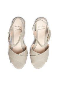 Szare sandały Toni Pons