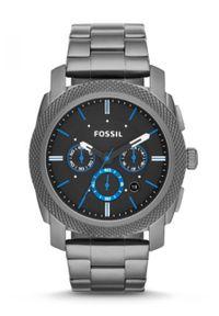 Fossil - Zegarek FS4931. Kolor: czarny. Materiał: materiał
