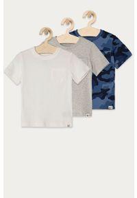 Niebieski t-shirt GAP na co dzień, gładki
