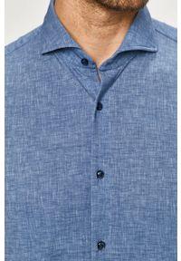 JOOP! - Joop! - Koszula. Kolor: niebieski. Długość rękawa: długi rękaw. Długość: długie