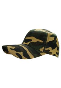 Zielona czapka Pako Jeans militarna, moro