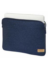 Niebieskie etui na laptopa hama w kolorowe wzory, eleganckie