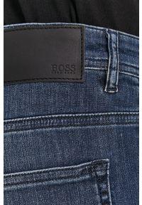 BOSS - Boss - Jeansy Boss Casual. Okazja: na co dzień. Kolor: niebieski. Styl: casual