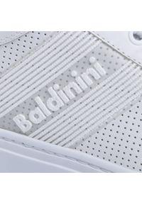 Białe sneakersy Baldinini