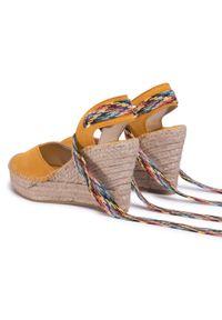 Żółte sandały Vidorreta casualowe, na co dzień #7