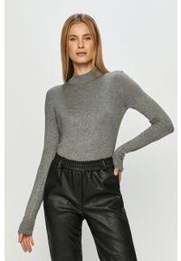 Szary sweter TALLY WEIJL na co dzień, długi, z długim rękawem