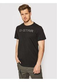 G-Star RAW - G-Star Raw T-Shirt D20482-336-6484 Czarny Regular Fit. Kolor: czarny